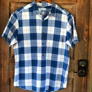 Columbia Short Sleeve Shirt Size XL